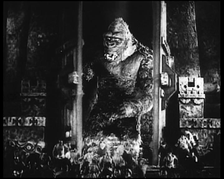 Una scena di KING KONG (1933)