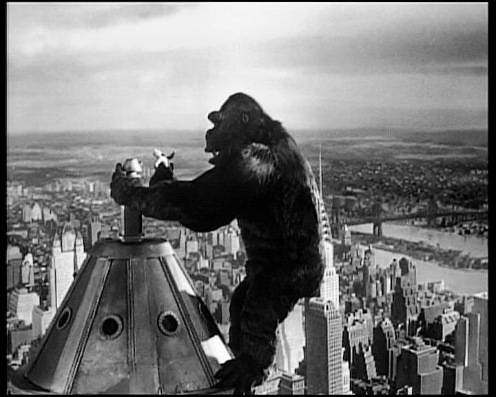 King Kong in cima all'Empire State Building