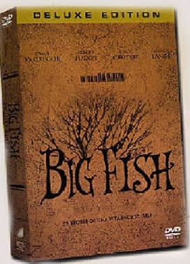 La copertina DVD di Big Fish - Deluxe edition