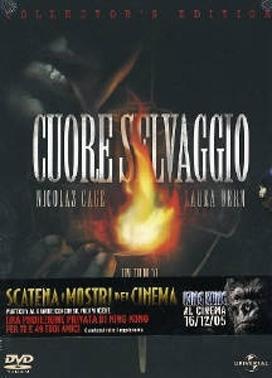 La copertina DVD di Cuore selvaggio - Special edition