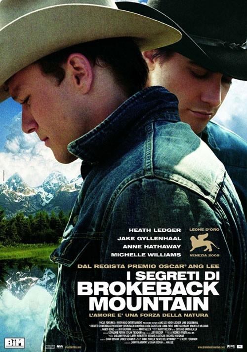 La locandina italiana di I segreti di Brokeback Mountain
