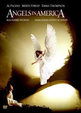 La copertina DVD di Angels in America