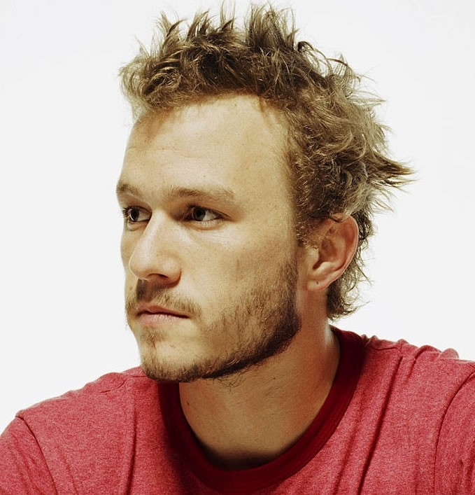un primo piano di Heath Ledger