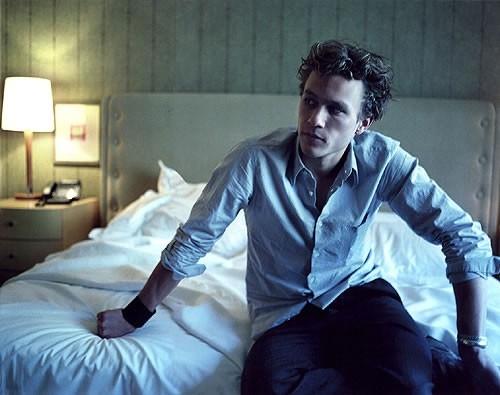 una splendida foto di Heath Ledger