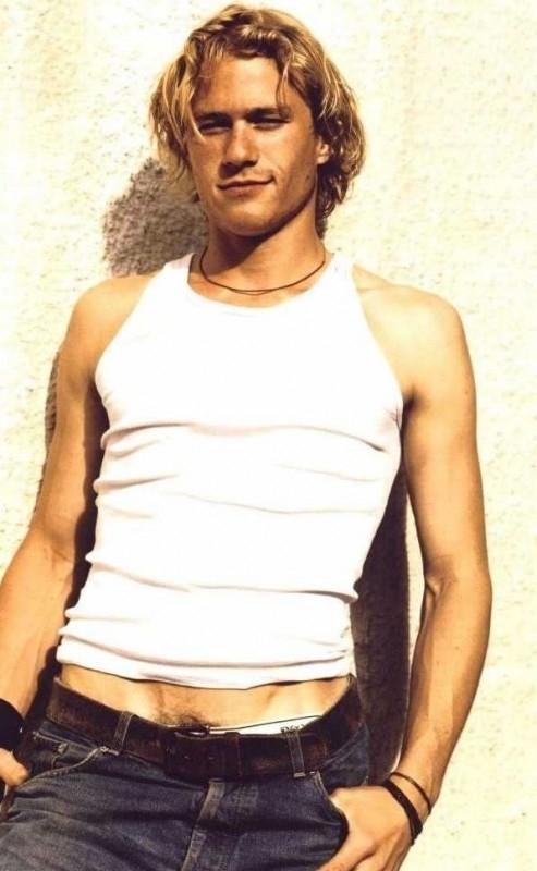 una solare immagine di Heath Ledger