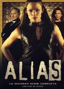 La copertina DVD di Alias - Stagione 2