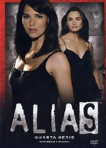 La copertina DVD di Alias - Stagione 4