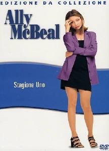 La copertina DVD di Ally McBeal - Stagione 1
