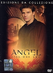 La copertina DVD di Angel - Stagione 1