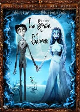 La copertina DVD di La sposa cadavere - Edizione speciale