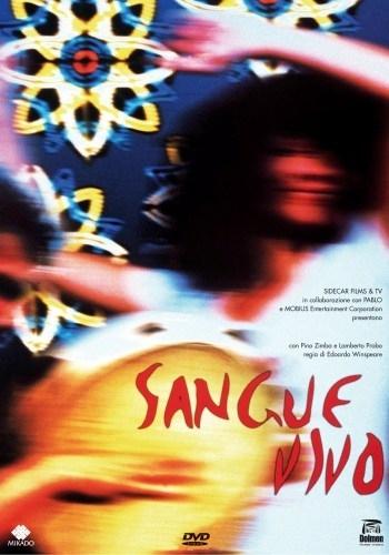 La copertina DVD di Sangue vivo