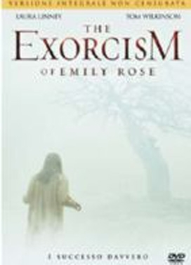 La copertina DVD di The Exorcism of Emily Rose - Edizione integrale