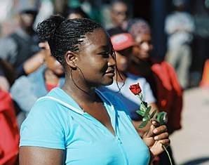 Pauline Malefane in U-Carmen eKhayelitscha