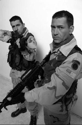 Riccardo Leto e Mauro Stante per il film Saddam