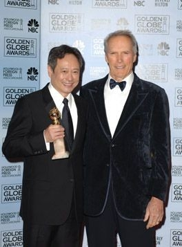 Ang Lee con Clint Eastwood