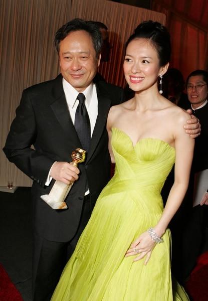 Ang Lee con Zhang Ziyi