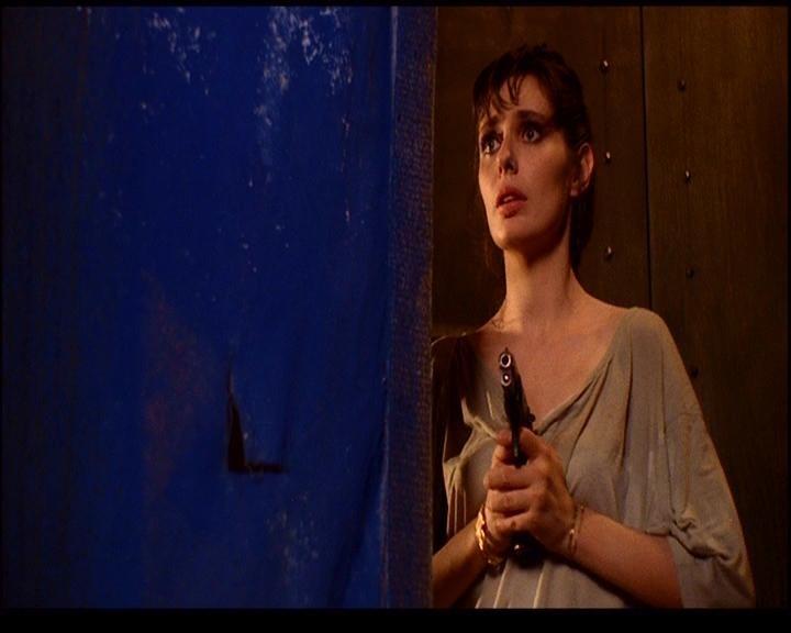 Barbara Cupisti in una scena di DELIRIA