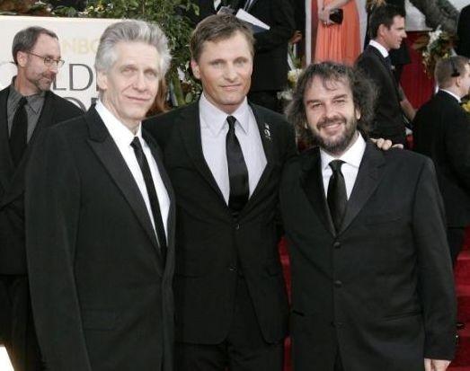 David Cronenberg, Viggo Mortensen e Peter Jackson