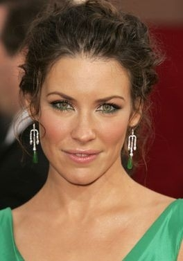 Evangeline Lilly ai Globes 2006