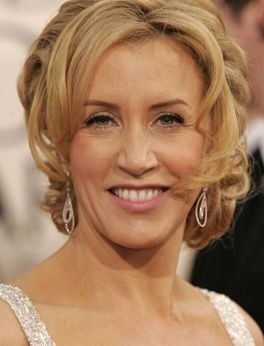 L'attrice americana Felicity Huffman ai Golden Globes 2006