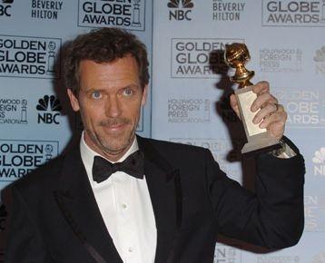 Hugh Laurie premiato per House