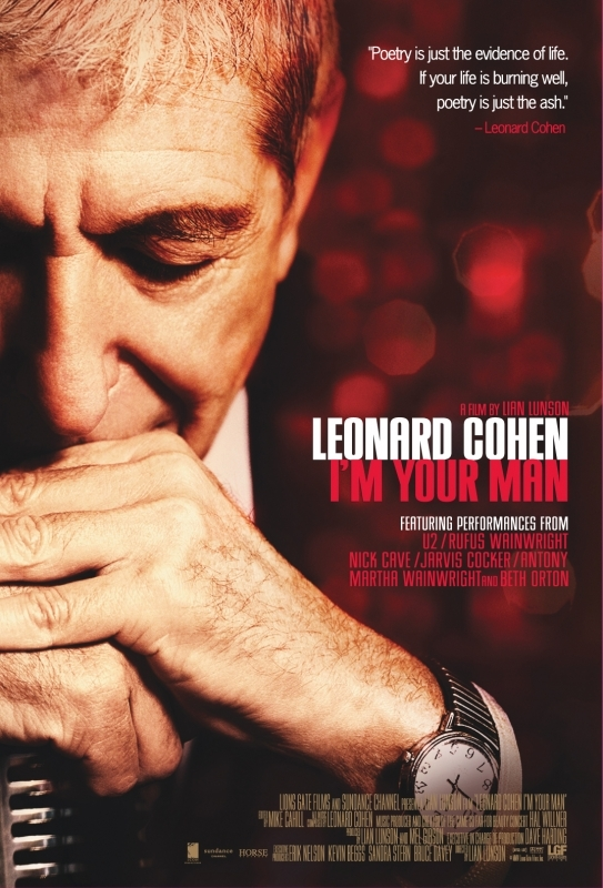 La locandina di Leonard Cohen I'm Your Man