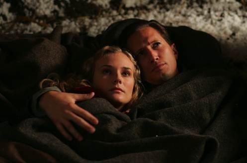 Benno Furman accanto a Diane Kruger in Joyeux Noel