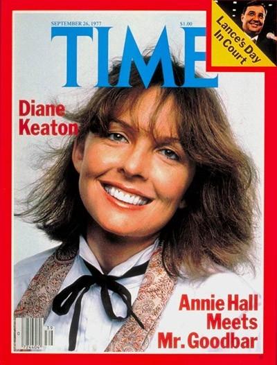 Diane Keaton sulla cover del Times