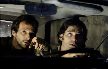 Eric Bana e Mathieu Kassovitz in una scena del film Munich