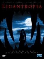 La copertina DVD di Licantropia