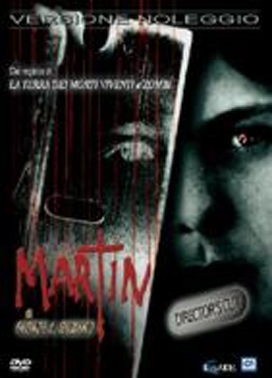 La copertina DVD di Martin - Director's Cut