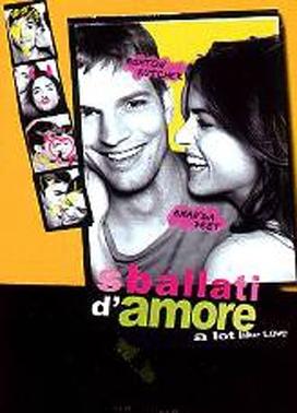 La copertina DVD di Sballati d'amore