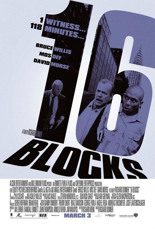 La locandina di 16 Blocks