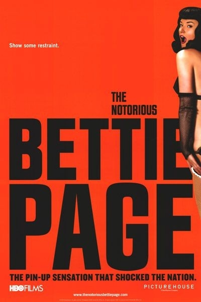 La locandina di The Notorious Bettie Page