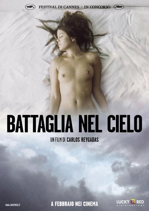 La locandina italiana di Battaglia nel cielo