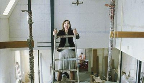 Carole Bouquet in Travaux - Lavori in casa
