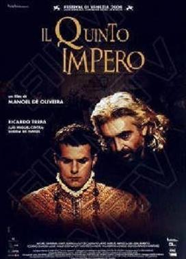 La copertina DVD di Il quinto impero