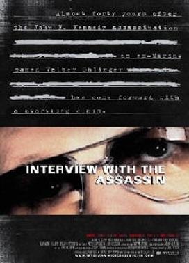 La copertina DVD di Interview with the assassin