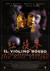 La locandina di Il violino rosso