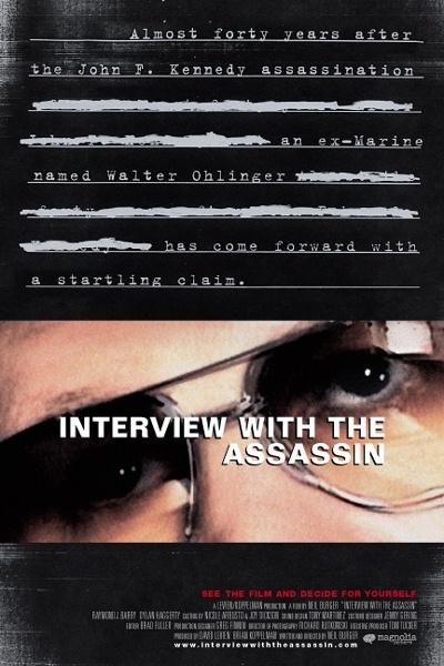 La locandina di Interview with the assassin