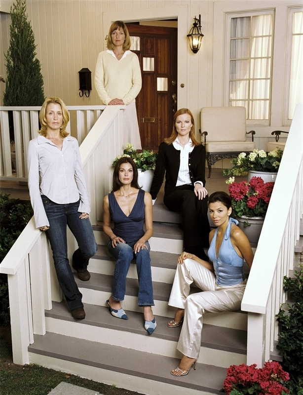 Un'immagine promozionale di Desperate Housewives