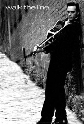 Joaquin Phoenix in una foto promozionale del film Walk the Line