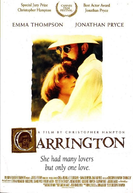 La locandina di Carrington