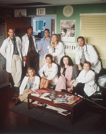 Una foto promozionale di E.R. - Medici in prima linea