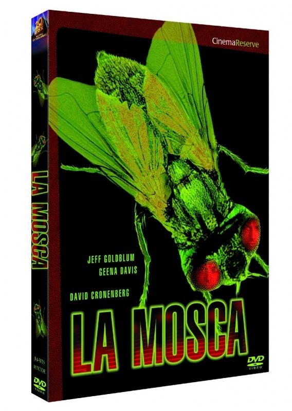 La copertina DVD di La Mosca collana Pietre Miliari