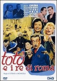 La copertina DVD di Totò e i Re di Roma