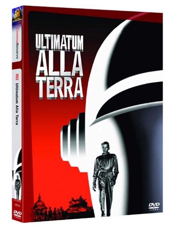 La copertina DVD di Ultimatum sulla terra