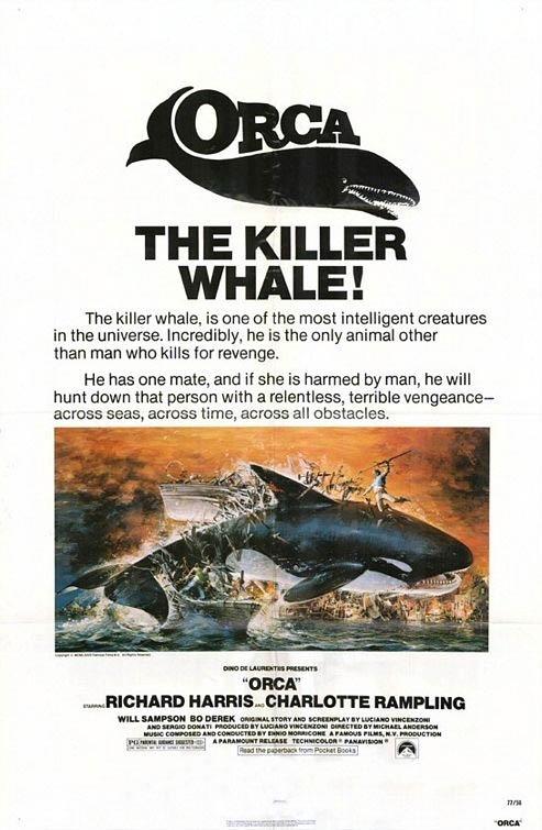 La locandina di L'orca assassina
