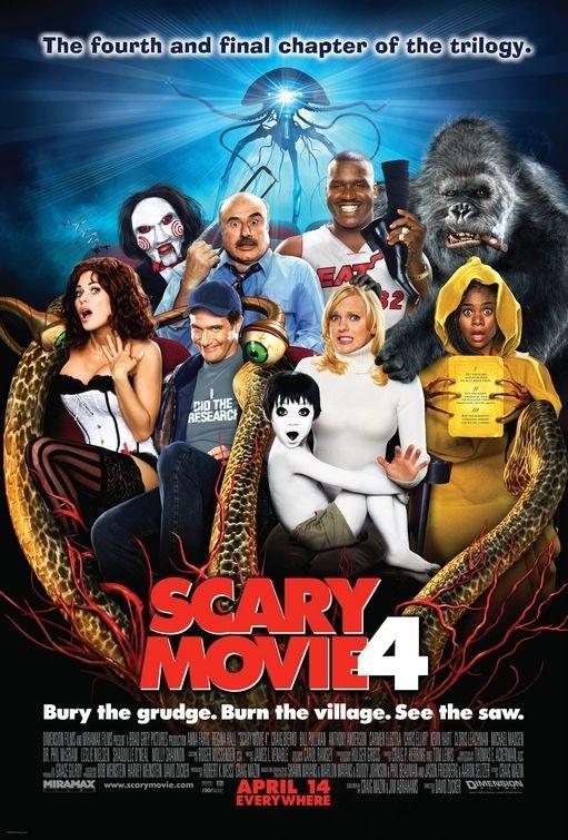 La locandina di Scary Movie 4