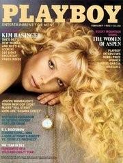 Kim Basinger sulla copertina di Playboy, anno 1983